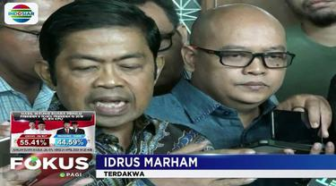 Dalam pertimbangannya, Idrus bersama Eni Saragih, mantan Ketua Komisi VII DPR RI, terbukti melakukan pertemuan bersama Komisaris PT Black Gold Natural Yohanes Budi Sutrisno Kotjo.
