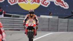 Marc Marquez cetak hattrick di GP AS