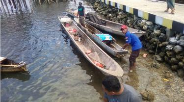 3 Perahu Nelayan Ditahan