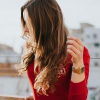 Ilustrasi rambut. Sumber foto: unsplash.com/Adrian Sava.