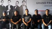 Presconference Jikustik Reunian di Yogyakarta