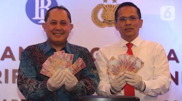 Bank Indonesia Musnahkan 50.087 Lembar Uang Rupiah Palsu