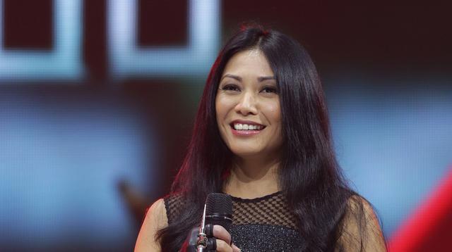 Anggun C. Sasmi memulai kariernya saat ia menetap di London. Setelah itu, ia pindah ke Perancis dan direkrut oleh Columbia Records. (Bambang E. Ros/Bintang.com)