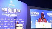 Wali Kota Surabaya Tri Rismaharini (Risma) menjadi pembicara di forum internasional di Turki. (Foto: Liputan6.com/Dian Kurniawan)