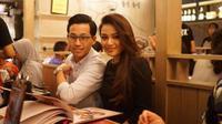 Aurel Hermansyah dan sang kekasih, Rabbani Zaki. [foto: instagram/aurelie.hermansyah]
