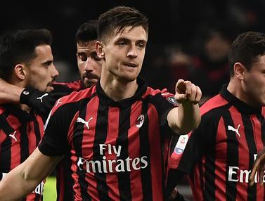 AC Milan Raih Kemenangan Manis, Piatek Kembali Cetak Gol