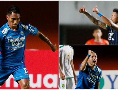 FOTO: 4 Pemain Persib yang Bisa Mengubur Mimpi Persija Juara Piala Menpora