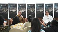 Wakil Menteri Luar Negeri RI, Mahendra Siregar berbicara kepada sejumlah jurnalis pada sela forum Kemlu for Startup di Jakarta, 25 November 2019 (Rizki Akbar Hasan / Liputan6.com)