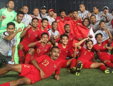 Timnas Indonesia Sang Juara Piala AFF U-22 2019