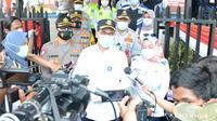 Menteri Perhubungan (Menhub) Budi Karya Sumadi memantau langsung kondisi arus lalu lintas di tol Jakarta-Cikampek dan jalur Puncak. Dok Kemenhub