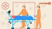 SPECIAL CONTENT: Ilustrasi penanganan rumah sakit terhadap pasien COVID-19 (Ilustrasi: Abdillah Liputan6.com)