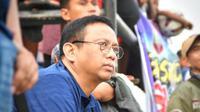 Rudi Irawan Ishak, digadang-gadang menjadi manajer Sriwijaya FC untuk mengarungi Liga 2 2021/2022. (Bola.com/Abdi Satria)