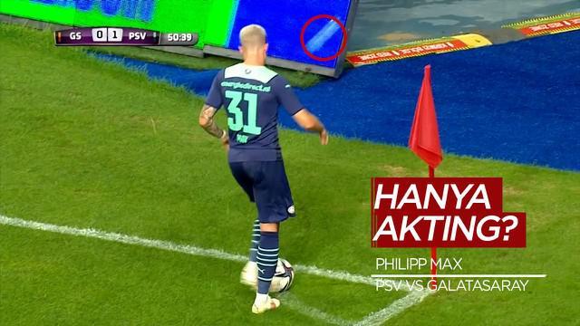 Berita Video, Pemain PSV Terjatuh Dalam Pertandingan Melawan Galatasaray di Babak Kualifikasi Liga Champions, Kamis (29/7/2021)