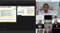 Forum diskusi internasional, United States Power Working Group for Indonesia (PWG) berlangsung secara virtual.