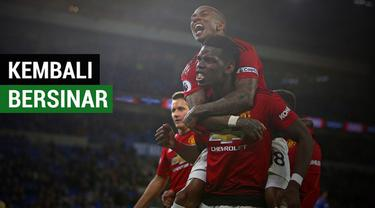 Berita video Paul Pogba seolah bisa kembali keluarkan potensi optimalnya di tangan Ole Gunnar Solskjaer saat Manchester United menang 5-1 atas Cardiff City dalam lanjutan Premier League 2018-2019.