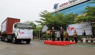 Grup Astra berpartisipasi pada acara Pelepasan Ekspor dari Indonesia ke pasar global yang dipimpin oleh Presiden Joko Widodo secara virtual dari Istana Negara pada Jumat, 4 Desember 2020.
