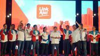 Grand launching aplikasi pembayaran LinkAja turut dihadiri Wakil Presiden Jusuf Kalla dan Menteri BUMN Rini Soemarno. Dok: Humas Kementerian BUMN