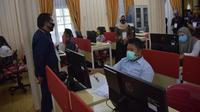 Rektor Unimed, Syamsul Gultom mengatakan, dalam UTBK kali ini para peserta yang mendaftar di berjumlah 13.955 orang.