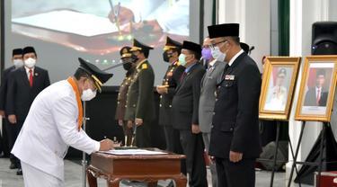 Ini Pesan Gubernur Ridwan Kamil untuk Bupati dan Wakil Bupati Cianjur yang Baru