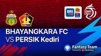 BRI Liga 1 : Bhayangkara FC vs Persik Kediri