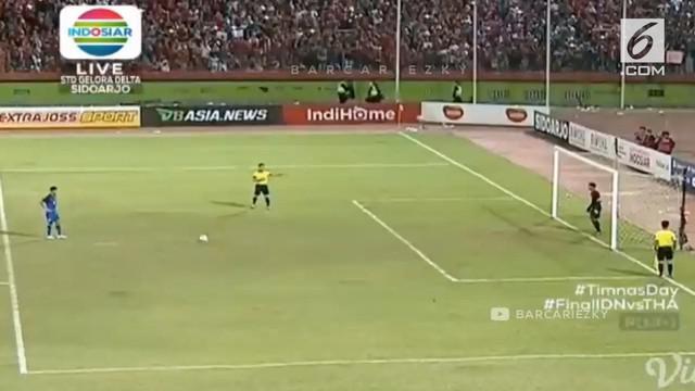 Timnas Indonesia U-16 berhasil mengalahkan Thailand dan menjadi juara piala AFF U-16.
