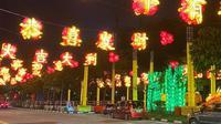 Dekorasi Imlek 2020 di Chinatown Singapura. (dok. Instagram @wearetheclassydisnerds/https://www.instagram.com/p/CKgTeJDnDkh/)