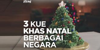 Kue khas natal apa saja yang terkenal dari berbagai negara? Yuk, kita cek video di atas!