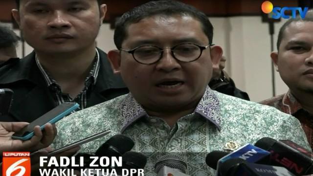 Fadli menjelaskan dirinya datang bukan untuk mengintervensi materi perkara, tetapi mengecek prosedur hukum penahanan Ahmad Dhani.