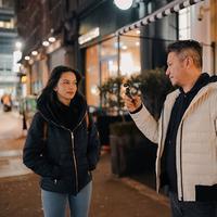 Gading Marten dan Juria Hartmans (Instagram/milkshakespeare)