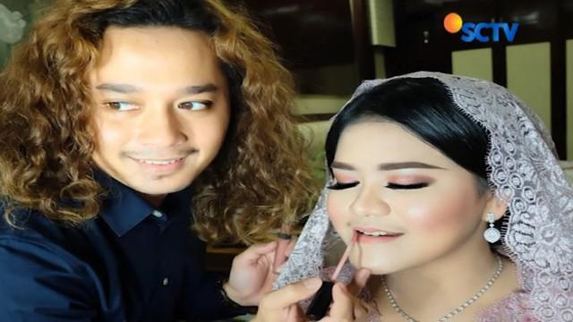 Usai merias Kahiyang Ayu, Nicolas mengaku panen pesanan jasa merias istri para pejabat di Medan.