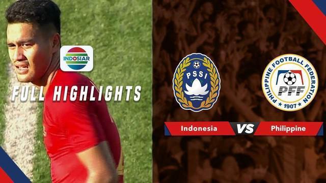 Berita video highlights perebutan tempat ketiga Merlion Cup 2019 antara Timnas Indonesia U-23 melawan Filipina yang berakhir dengan skor 5-0, Minggu (9/6/2019).
