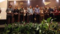 MRT Jakarta memberikan apresiasi kepada sejumlah stakeholders, Rabu (19/6/2019). (Www.sulawesita.com)