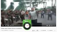 [Cek Fakta] Gambar Tangkapan Layar Video Eksekusi Lahan