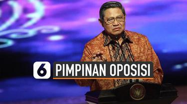 Direktur Lingkar Madani Indonesia (LIMA) Ray Rangkuti, menyebut Ketua Umum Partai Demokrat SBY bisa menjadi pemimpin oposisi pemerintah.