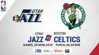 Utah Jazz Vs Boston Celtics (Bola.com/Adreanus TItus)