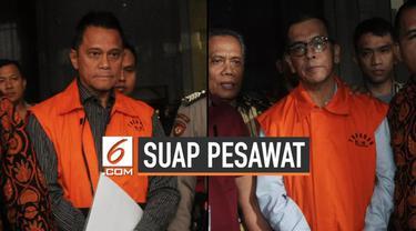 Mantan Direktur Utama (Dirut) PT Garuda Indonesia Emirsyah Satar(ESA) dan Beneficial Owner Connaught International Pte Ltd Soetikno Soedarjo (SS) yang juga pendiri PT Mugi Rekso Abadi resmi ditahan penyidik Komisi Pemberantasan Korupsi (KPK).