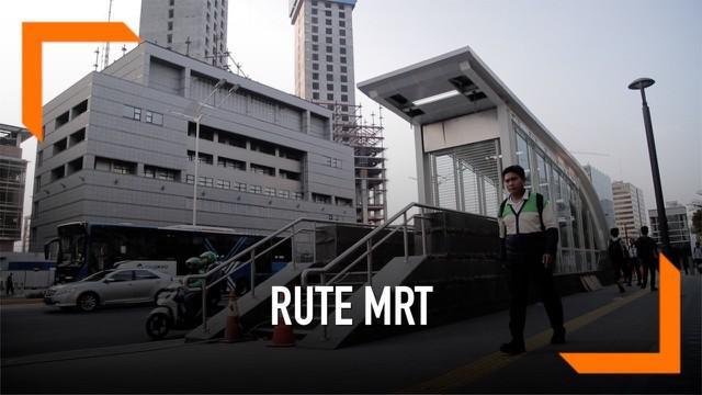 Manajemen MRT Jakarta membuka kembali enam stasiun bawah tanah yang sempat ditutup karena demo 22 Mei di depan kantor Bawaslu.