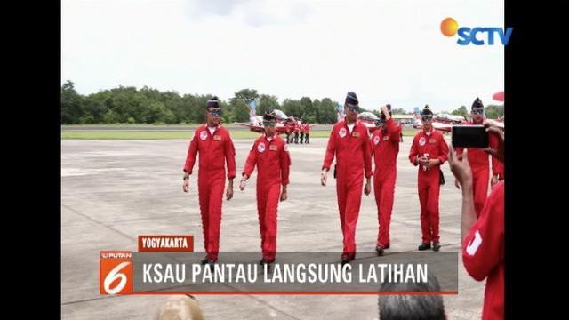 Jupiter Aerobic Team TNI Angkatan Udara akan unjuk kebolehan di laga Lima Air Show 2019 di Langkawi, Malaysia.