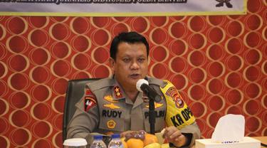 Kapolda Banten, Irjen Pol Rudy Heriyanto. (Dokumentasi Humas Polda Banten).