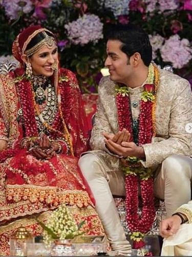 Pernikahan Putra Orang terkaya Asia