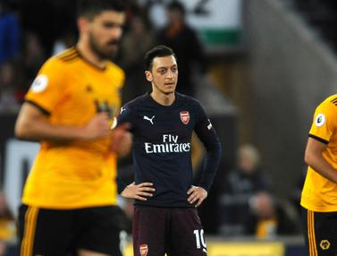 Arsenal Dipermalukan Wolves