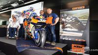 KTM resmi meluncurkan motor baru untuk MotoGP 2017. (Motorsport)
