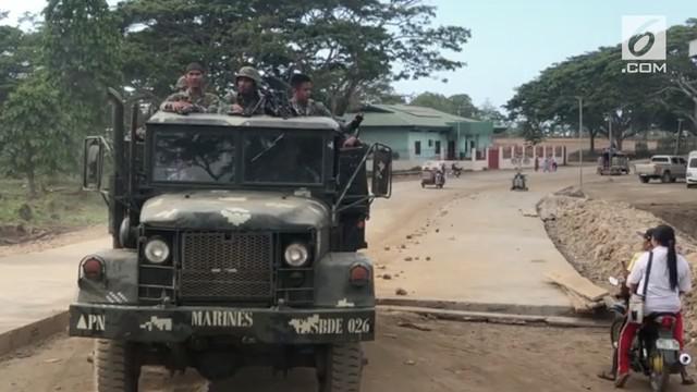 Basmi teroris, tentara Filipina kembali gelar operasi militer di Sulu.