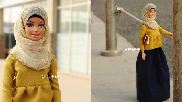 Hijarbie Barbie Dengan Hijab Dan Busana Muslim Fashion Beauty