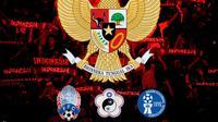 Timnas Indonesia - Calon Lawan Timnas Indonesia: Kamboja, Chinese Taipei, dan Guam (Bola.com/Adreanus Titus)