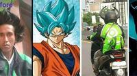8 gaya ojol tirukan gaya pahlawan super (Brilio.net)