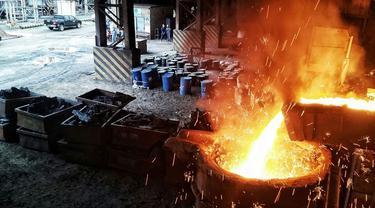 Smelter PT Antam Tbk di Pomalaa, Sulawesi Tenggara (Dok Foto: Liputan6.com/Pebrianto Eko Wicaksono)