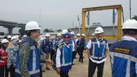 Direktur Utama Jasa Marga Desi Arryani menargetkan, Tol Jakarta-Cikampek (Japek) II Elevated dapat beroperasi secara fungsional pada saat mudik Lebaran Idul Fitri 2019.