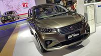 Suzuki Ertiga 2018 merupakan generasi ke-2 yang terlihat lebih stylish. (Herdi/Liputan6.com)