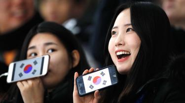 Olimpiade Pyeongchang 2018-Fans Cantik